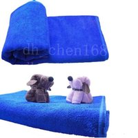 30x30cm Blau weiche Mikrofaser Reinigungstuch für Auto Waschtuch Auto Pflege Square Home Badezimmer Küche Wasch-