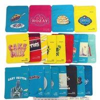 2021 45 Types Cookies Bag 3.5G 1 8 California Medellin YA HAMI LondonChello Pineapple Packaging Mylar Runtz Bags Wholesale