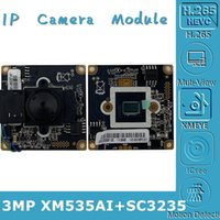 3.7mm XM535AI+SC3235 IP Camera Module Board Mini Lens IRC 3MP H.265 2304*1296 MIC Audio Interface With Radiator Motion Detection Cameras