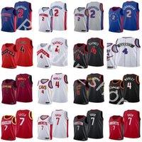 2021 проект выбора баскетбольных майки 2 Cade Cunningham 4 Evan Mobley 7 Jalen Green Scottie Barnes Blue белый серый красный черный