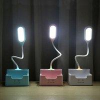 Buchlichter Schreibtischlampen LED-Lampen-Tischlese-faltbare dimmbare wiederaufladbare licht tragbare Flexo