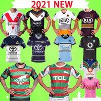 S-5XL 2020 Neue Rugby-Trikots Broncos West Tiger Kaninchen Cowboy Shark Knight Warrior Leopard League Hemd Uniformen Zuhause 21 22 Top Qualität