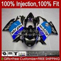 Iniezione del corpo per Honda Blackbird CBR 1100 1100XX CBR1100 XX 96 97 98 99 00 01 26NO.137 CBR1100XX 2002 2003 2004 2005 2006 2007 CBR 1100CC 96-07 Blue Repsol Fairings