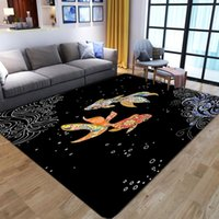 Carpets Cartoon Animal 3D Printed Carpet Kids Bedroom Play Mat Soft Flannel Memory Foam Child Game Area Rugs And For Living Room