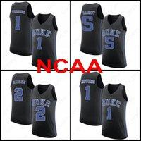 JA 12 مورانت NCAA صهيون 1 Williamson الرجال كرة السلة الفانيلة Duke Blue Devils Murray State College RJ 5 Barrett 2 Reddis J.J 4 Redick 32 Laettner 02