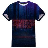 Fremder Sachen 3D-gedrucktes T-Shirt TV-Serie Männer Frauen Casual Streetwear Oansatz Hip Hop Tshirt Frühling Sommer Mode T-Shirt Top