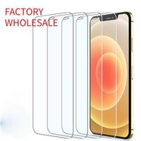 Factory Wholesale Protective Screen Protectors tempered Glass on for iPhone 11 12 Pro Max XS XR 7 8 6s Plus SE