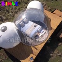 Double room luxury clear large inflatable bubble tent with bathroom,outdoor glamping hotel for holiday camping