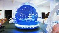 تخصيص خلفية سنو غلوب كشك صور للإنسان الذهاب داخل 3 متر ضياء نفخ فقاعة قبة واضح الثلج غلوب عيد الميلاد ساحة عيد الميلاد هالوين الإعلان