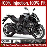 kawasaki ninja z 1000 r z-1000 10 11 12 13 년 차체 15no.37 Z-1000R Z1000 2011 2012 2013 Z1000R 2010-2013 OEM 페어링 키트 플랫 블랙
