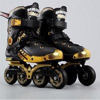 Weiqiu Pu-Roller Inline Skating Sko Skor Roller Skridskor Sneakers för Vuxen Professionell Perins Storlek 35-44