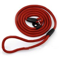 Dog Collars & Leashes 1.3m Useful Dogs Pet Collar Traction Rope Supplies Harness Adjustable Woven Chain Leash 2021