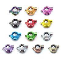 Keychains Mini Turbo Turbocharger Keychain LED Turbine Key Chain Ring Keyring Keyfob Car Interior Accessories 1PCS