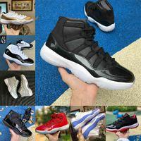Air Jordan 11 retro jordans Nike 2021 Jubiläum Pantone gezüchtet 11 11s Basketballschuhe gewinnen wie 25. Jubiläumsraum Jam Gamma Blue Ostern Concord 45