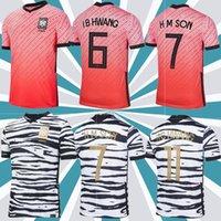 2020 Sul de Futebol Jerseys Coréia H M Filho Sul 20 21 Coréia Home Away Black Hyung Kim Lee Kim Ho Filho Jersey Homens Personalizados Crianças Treinando Camisas de Futebol