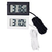 Professinal Mini Digitale LCD-sonde Aquarium Koelkast Vriezer Thermometer Thermografie Temperatuurmeter voor koelkast -50 ~ 110 graden FY-10