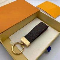 Luxo Designer Keychain 5a Top Quality Buckle Amantes Carro Key-ring Handmade Couro Designers Chaveiros Homens Saco de Mulheres Bolsas Chaveiro Acessórios Pingente 4 Cor