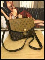 VITTON Handbags For Women Leather Shoulder Bags Luxurys Designers Handbags Female Messenger Bag Tote 2022