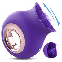 9 Geschwindigkeiten Zunge Vibrator Silikon Klitoral Sauger Stimulator Oral Nippel Sauging Vibration Sex Toys für Frauen