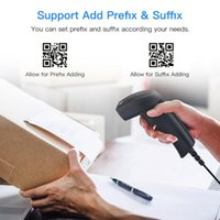 Bluetooth Wireless Barcode Scanner AND Wired 1D 2D QR Bar Code Reader PDF417 For Mobile Payment Industry Scanners