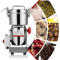 Electric Coffee Grinders Grain Grinder Mill Spice Herbs Pulverizer Grinding Machine Tool Stainless Steel Bean For Home