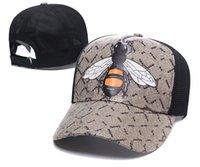 클래식 최고 품질의 양동이 모자 뱀 타이거 꿀벌 고양이 캔버스는 남자 야구 모자 상자 먼지 가방 패션 여성 태양 모자