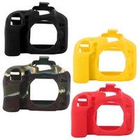 Protetor de câmera digital Tampa de luva de silicone adequada para D600 / D610 Caso de Shell Acessórios de estúdio de iluminação de protecção