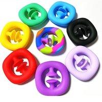 Silicone sucção copo push push fidget brinquedo colorido brinquedos sensory brinquedos arco-íris bolha ansiedade estresse material de alívio para crianças descompressão crianças