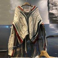 2020 herbst neue koreanische stil pullover pullover frauen wild lässig mode damen pullover v-ausschnitt quaste tops weiblich y3461