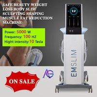2021 Emslim RF Hi-EMT Şekillendirme Makinesi EMS Elektromanyetik Kas Stimülasyon Yağ Yakma Hiemt Güzellik Ekipmanları (Qem Logo)