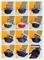 Designer Discovery Discovery Bum Bag Sacchetto della vita M44336 Eclipse Leather Black Fanny Pack Borsa per il corpo Vita Dimensioni: 37 x 30 x 6 cm