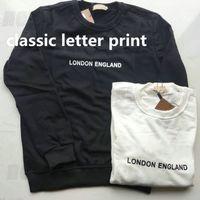 2021 Europe London Angleterre Designer de luxe pour Mens Classic Lettre Imprimer Sweats Sweatshirt Fashion Sweatshirt Femme Casual Pullover Jumper