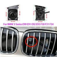 Car Front View Logo Embeded Camera For 3 Series E90 E91 E92 E93 F30 F31 F34 2008-2021 Waterproof Night Vision CCD HD Rear Cameras& Parki Par