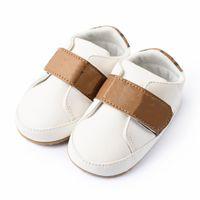 Baby First Walker Girls Tooss Newborn Princess PU кожи R младенец довоенный 0-18 месяцев