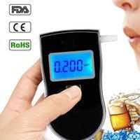 Verkauf von AT-818 Professionelle digitale Atemkollege Alkohol Tester atemberaubeter analyzer detektor praktische dfdf alkoholismus test
