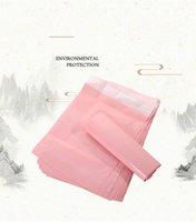 Светло-розовые курьерские сумки сгущающиеся сумка для хранения Водонепроницаемый конверт почтовик самоклеясь