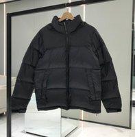 Mektuplar Nakış Erkek Ceketler Ceket Erkekler Kadınlar Için Kapüşonlu Parkas Moda Tasarımcısı Aşağı Palto Rüzgarlık Sıcak Ceket Fermuar Kalın Streetwear