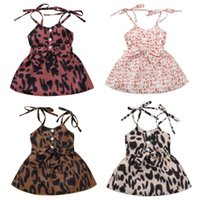 Wallarenear 1- 4Years Toddler Baby Girl Summer Dress Sleevele...