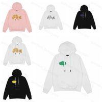 21ss Erkek Kadın Palm Tasarımcısı Melekler Hoodie Kazak Tişörtü Streetwear T Gömlek Kuzey Lüks Yüz Ceketler PA of OW Beyaz Bear Hoodies