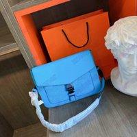 Outdoor-Klappe Messenger Bag Designer Herren Aktentaschen Rindsleder Schatten Leder Schulter Handtasche Designer Luxurys Marke Umschlag Geldbörse Brieftaschen M30413 M30411