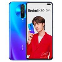 "Original Xiaomi Redmi K30i 5G Mobile Phone 6GB RAM 128GB ROM Snapdragon 765G Octa Core Android 6.67"" Full Screen 48.0MP NFC Face ID Fingerprint 4500mAh Smart Cell Phone"