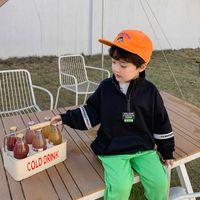Cool Zipper Spring Autumn Boys Sweatshirts Jacket Coat KidsOutwear Children Clothes Tops Teenager Gift High Quality G0917
