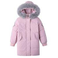 """Kinder Daunenjacke mittelgroß Länge 2020 Neue Mode koreanische Ausgabe Mädchen """"warme Mantel Kinder Wintermantel 841 V2"""
