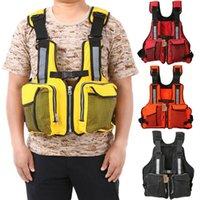 Veste de sauvetage pour enfants adulte KAYAK SKI BUOYANCY AID Gilet de navigation à voile Port-Navaliers nautiques