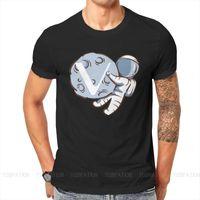 Men's T-Shirts Vet Vechain Blockchain Crypto Cryptocurrency Tshirt For Men Astronaut Humor Casual Sweatshirts T Shirt High Quality Trendy Lo