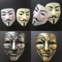 v 마스크 할로윈 전체 얼굴 가장 무도회 마스크 Vendetta 익명의 남자 파티 코스프레 공포 마스크 CYZ3031