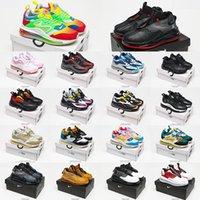 2021 Nike Air Max 720 Horizon Running Tênis Top Moda MX 720S 818 Mulheres Mens Worldwide Branco Fora Metálico Prata Preto Cinza Universidade Red Sports Sports Sneakers