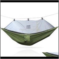 Giochi Attività Antimosquito amaca in estate Viaggi all'aperto Camping Sleep P6cre Yamtv
