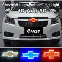 17 * 5,5 cm 4D 5D Logo LED Tagfahrlampe Auto Emblem Licht für Chevrolet Chevy Cruze Epica Abzeichen Aufkleber