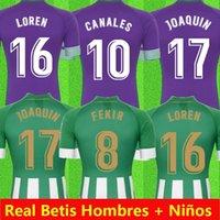 20212020 21 Real Betis Soccer Jersey 17 Joaquin 10 Canales Men Kids Camiseta دي Fútbol Juanmi Fekir Bartra B.iglesias Camiseta de Futebol